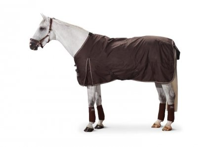 Ripstop outdoor horse rug : cotton lining with 300g padding